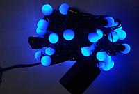 "Led40 ""шарики 1,8"" blue к-110"