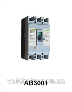 Автоматичний вимикач АВ3001/3Н 3р 40А Промфактор