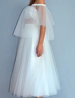Фатиновая юбка  - свадебная короткая, фото 2