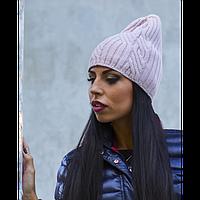 """Женская вязаная шапка """"Адель"""""""