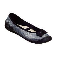 Текстильные балетки 3F Prima 4A1 9 сменная обувь для школы