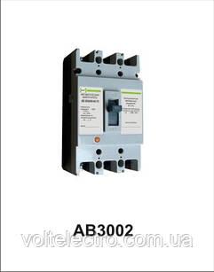 Автоматичний вимикач АВ3002/3Н 3р 25А Промфактор
