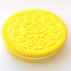 Печенько (желтое) силиконовый прорезыватель для зубов