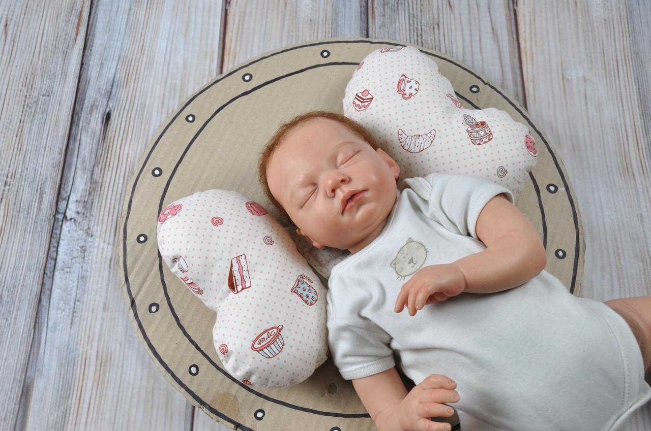 """Детская подушка для новорожденных """"Butterfly"""", Cake"""