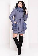 Пальто женское кашемировое зимнее