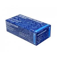 Перчатки синие XS латексные Style Latex Kobalt неопудренные, (AMPri)