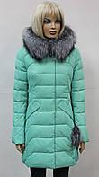 Женская Куртка-Пуховик теплая Y7017 мята