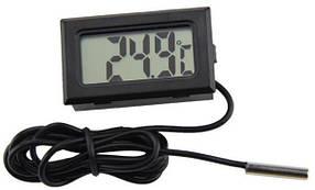 Цифровой термометр с внешним датчиком встраиваемый