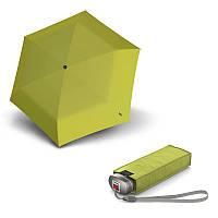 Зонт складной Knirps Travel Lemon UV Protection механический