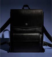 Рюкзак BlankNote Blank-Bag-1-black кожаный Черный