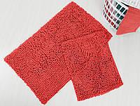 Набор ковриков для ванной Irya - Drop coral - 60*100+45*60