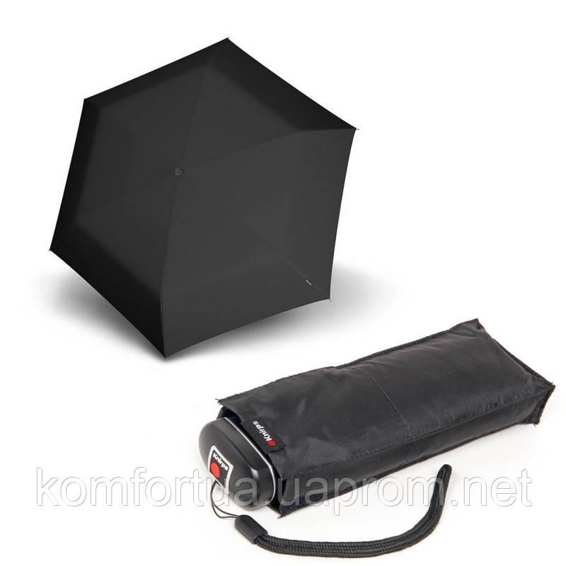 Зонт складной Knirps Travel Black механический