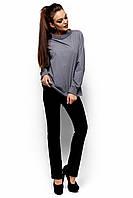 Оригинальная Рубашка Шарлотт из хлопковой  ткани с длинным рукавом 42-48р