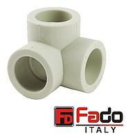 Колено PPR 32х90 с тремя выходами полипропиленовое FADO Италия