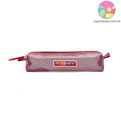 Прозрачная косметичка для зубных щеток (розовый)