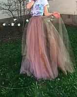 Фатиновая юбка  - длинная, фото 3