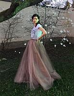 Фатиновая юбка  - длинная, фото 4