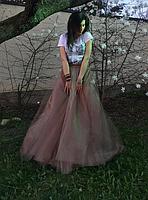 Фатиновая юбка  - длинная, фото 5