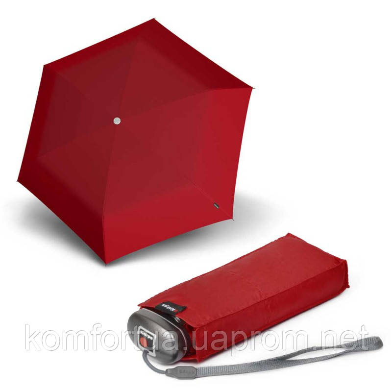 Зонт складной Knirps Travel Red механический