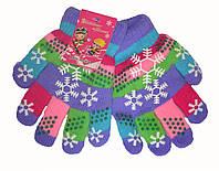 Перчатки двойные для девочки 11-18 лет