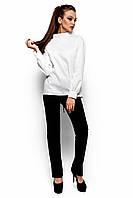 Необычная Рубашка Шарлотт из хлопковой  ткани с длинным рукавом 42-48р