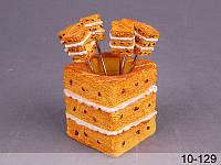 Набор вилочек на подставке Lefard Торт 6 шт