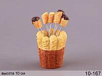 Набор вилочек на подставке Lefard Пончик 6 шт