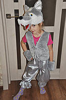 Карнавальный костюм Волк , Серый волк для мальчика, фото 1