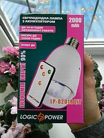 Светодиодная Лампа с аккумулятором LP-8201R LiT 2000 мАч