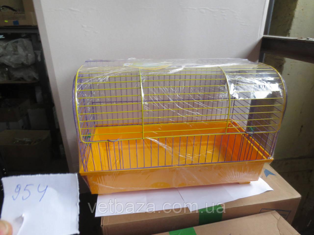 Клетка Биг-Вояж для грызунов крашенная 56х30х37 Лори (только по передоплате)