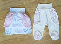 Ползунки для новорожденных интерлок (рост 62 см)