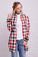 Рубашка женская Бонита (3цв), рубашка в клетку женская, женская летняя рубашка, дропшиппинг поставщик
