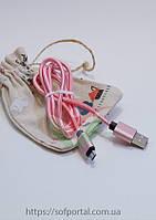 Кабель USB micro usb Golis