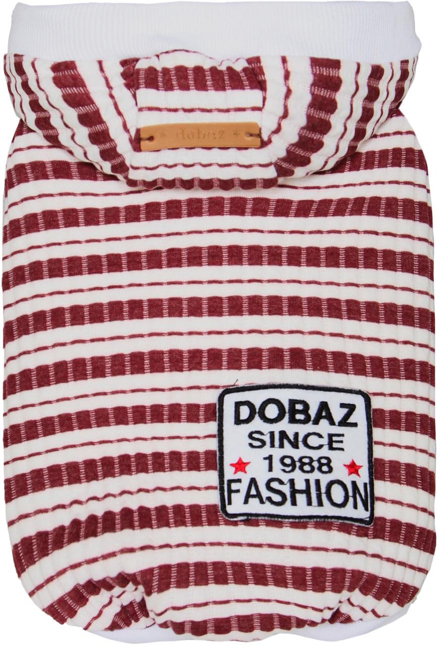 Батник для животных Stripes Добаз, Dobaz красный
