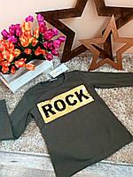 Кофточка с пайетками   для девочек Оптом и в розницу Турция 5-14 лет Rock Little star, фото 1