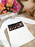 Кофточка с пайетками   для девочек Турция 5-14 лет Rock Little star, фото 1