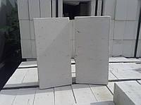 Кирпич силикатный белый рядовой  85*120*250