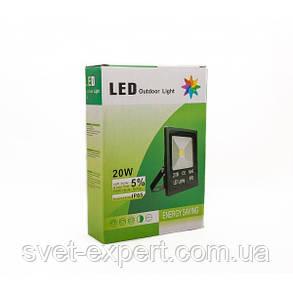 Прожектор 20W 1100Lm 6400K IP65 SMD, фото 2