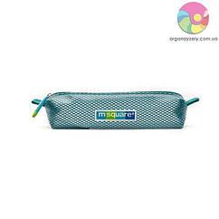 Прозрачная косметичка для зубных щеток (бирюзовый)