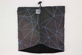 Баф / маска / хомут  Custom Wear Geometric ( BLK ) (Шарф\Унисекс)