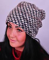 Женская шапка блюз