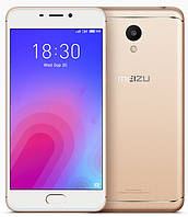 Смартфон ORIGINAL Meizu M6 Gold (8Х1.5Ghz; 2Gb/16Gb; 13МР/8МР; 3070 mAh)