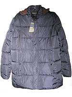 Куртка мужская зимняя батал (плащевка,холофайбер) от склада оптом 7 км