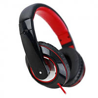Наушники с микрофоном HAVIT HV-H613D black/red, фото 1