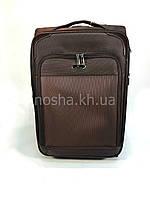 Большой вместительный дорожный чемодан 100л Tree Birds Коричневый