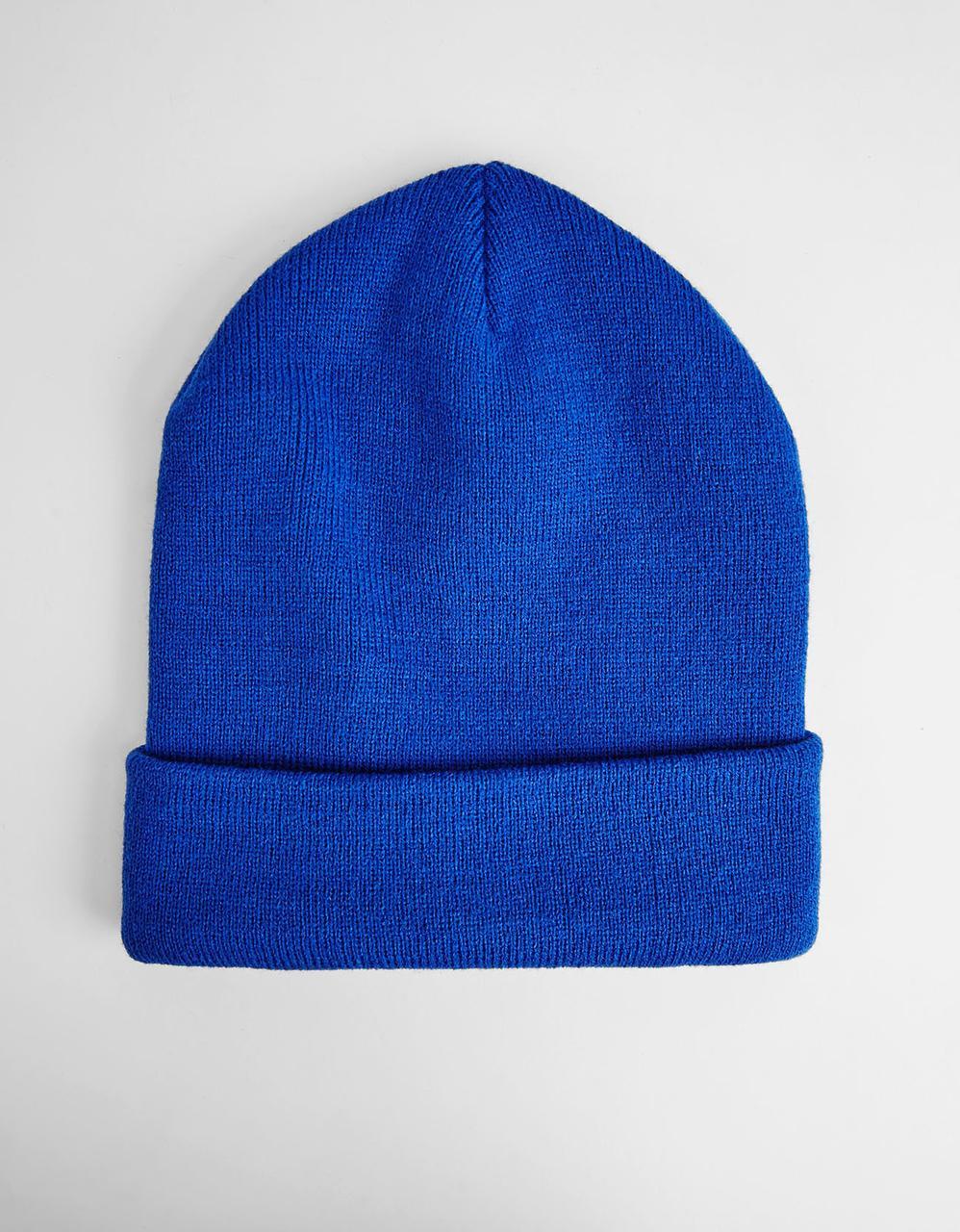 Шапка - Bershka - Classic Royal (Зимняя/Зимова шапка)
