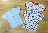 Кофточка с коротким рукавом для малышей интерлок (рост 86)