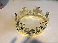 Детская новогодняя карнавальная корона для короля
