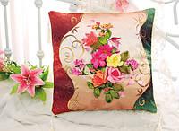 Подушка для вышивки Сладкий букет