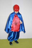 Детский новогодний карнавальный костюм человек-паук